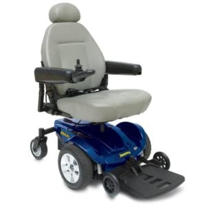 Jazzy Select Blue Mobility Scooter